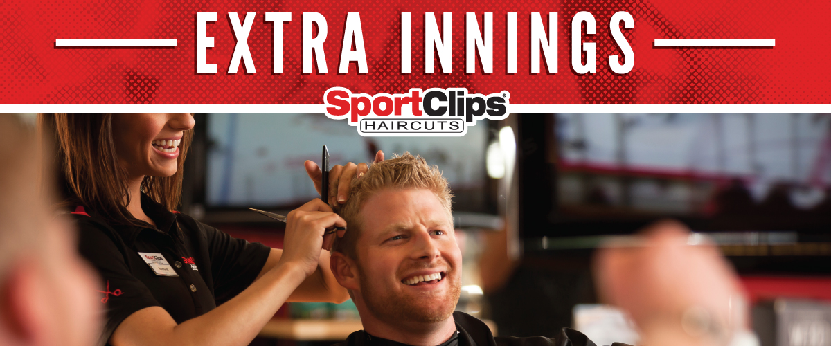 The Sport Clips Haircuts of South Hanover Extra Innings Offerings